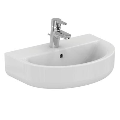 Washbasin ARC 55 cm (short projection)