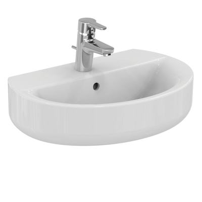 Washbasin SPHERE 55 cm, short projection