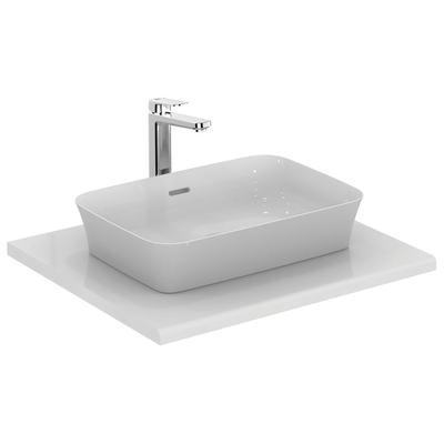 Rectangular Vessel basin 55 cm with thin walls
