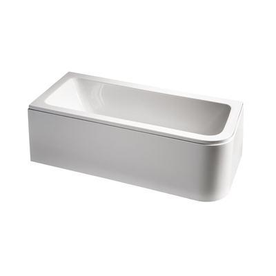 170 x 75cm Asymmetric Idealform Bath Left Hand with no tapholes