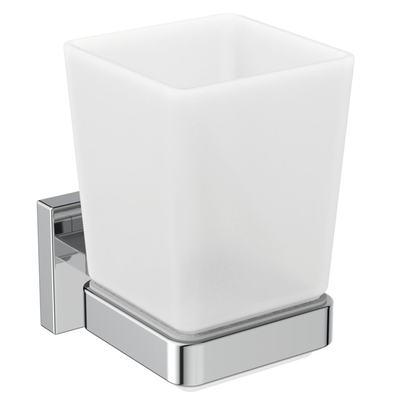 IOM Square дозатор за течен сапун Хром