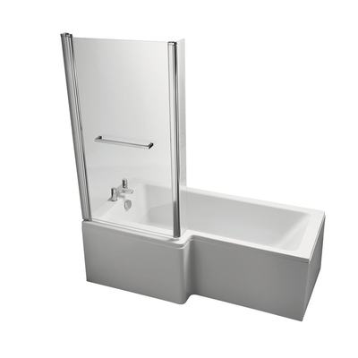 Cube Shower Bath Screen