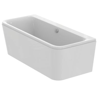 D Shaped Double-Ended Bathtub 180x80cm