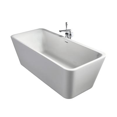 Freestanding Double-Ended Bathtub 180x80cm