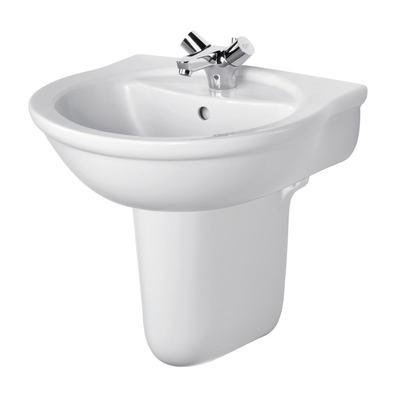 60cm Washbasin, 1 tapholes