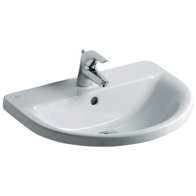Arc 55cm Countertop Washbasin, 1 taphole