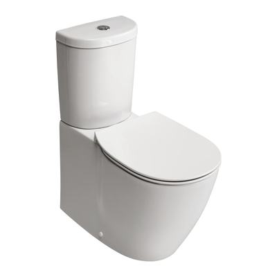 Close Coupled WC Bowl / Back-to wall with Aquablade Technology - horizontal outlet