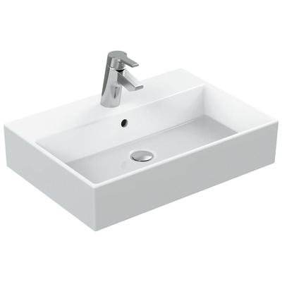 60cm Countertop Washbasin, 1 taphole
