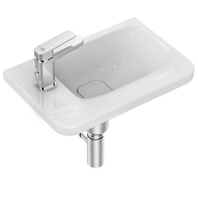 Guest Basin 45 cm with one left tap hole