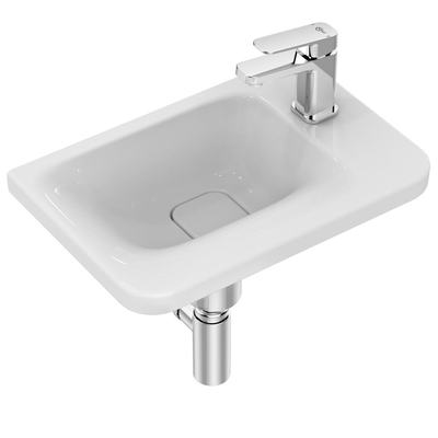 Guest Basin 45 cm with one right tap hole