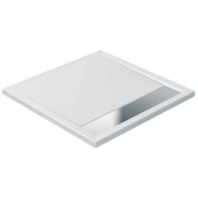Piatto doccia in acrilico 90 x 90 x 4 cm