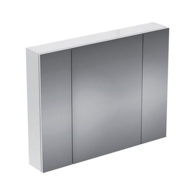 Горен шкаф огледало - две врати, 90 cm