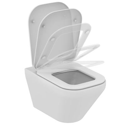 Wall mounted WC bowl AquaBlade® with Fully hidden fixation