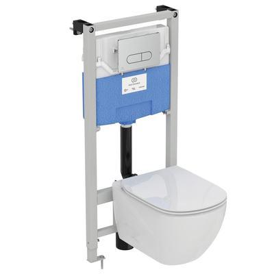 Tesi AquaBlade WC комплект за вграждане Бял