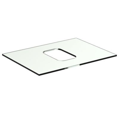 Glass Worktop 60 cm without tap hole