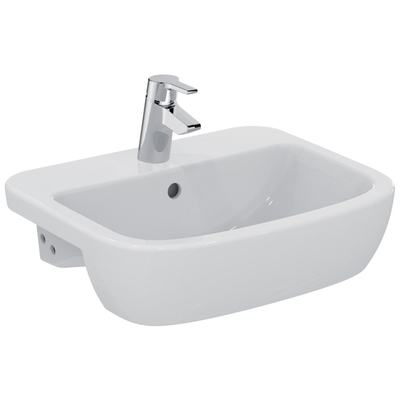 Semi-countertop basin 55 cm