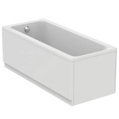 Rectangular bathtub 160x70 cm, complete set
