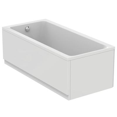 Rectangular bathtub 170x80 cm, complete set