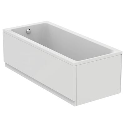 Rectangular bathtub 180x80 cm, complete set