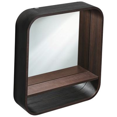600mm Shelf Mirror Unit with LED Light