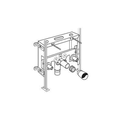 Instalacijski okvir za ugradnju konzolnog bidea