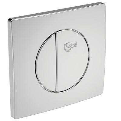 Double-button Flush plate Chrome