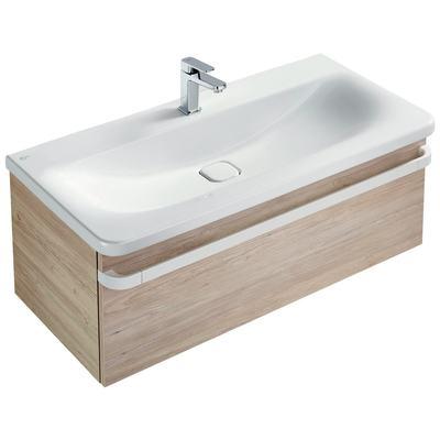 Basin unit 1 drawer 1000mm gloss white