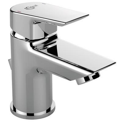 One hole basin mixer PICCOLO with pop-up waste, 5 l/min