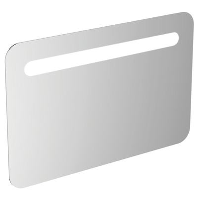 1000mm Rounded Anti Steam Mirror with Light, Sensor & Bluetooth Technology
