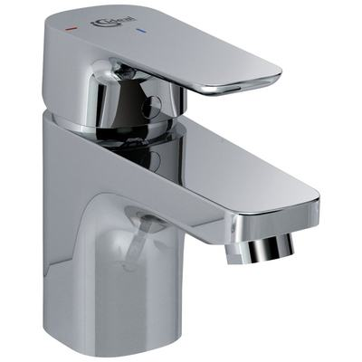 "One-hole basin mixer ""Blue Start"" C3 with metal pop-up waste"