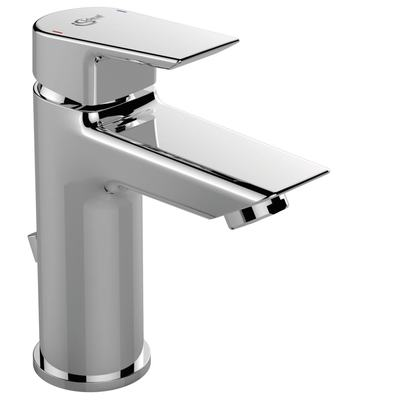 One hole basin mixer with pop-up waste, for low pressure ND
