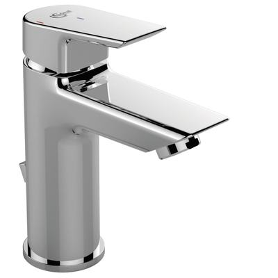 One hole basin mixer with pop-up waste Cold start, 5 l/min