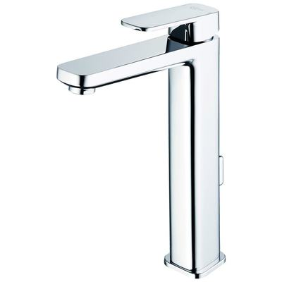 Single Lever Tall basin mixer with Pop up waste