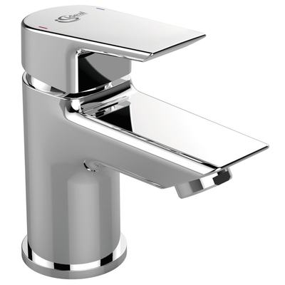 One-hole Piccolo basin mixer without pop-up waste