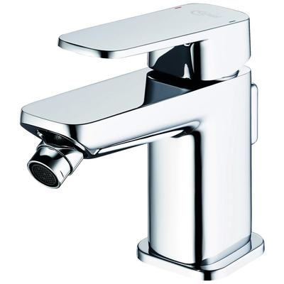 Single Lever Bidet mixer with Pop up waste