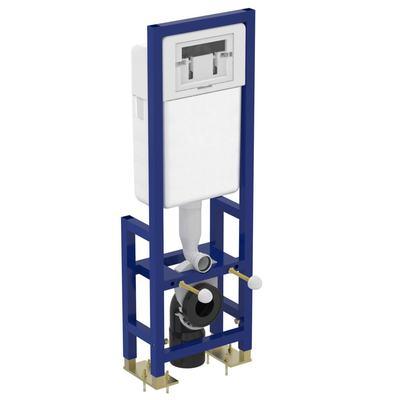 Структура за вграждане на конзолна тоалетна чиния Неутрален