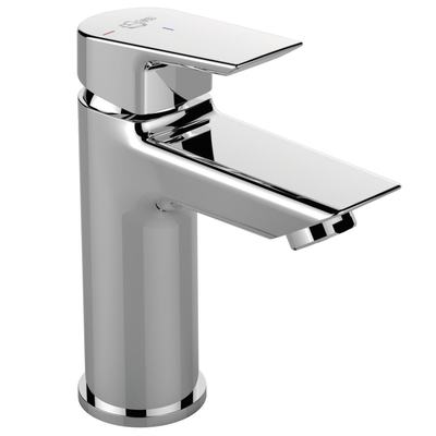 One hole basin mixer without pop-up waste, Cold start, 5 l/min