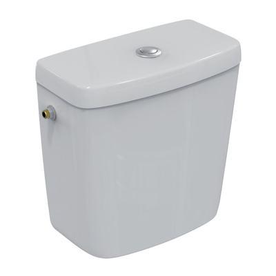 Zbiornik do kompaktu WC, doprowadzenie wody z boku, zbiornik 3/6 l