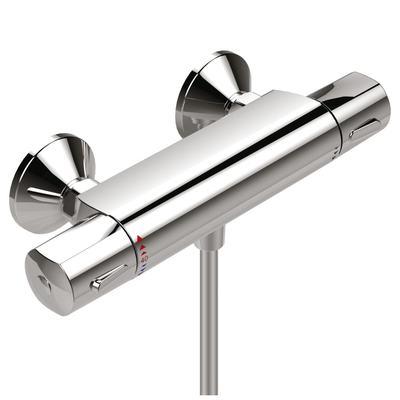 Термостатен смесител за душ Хром