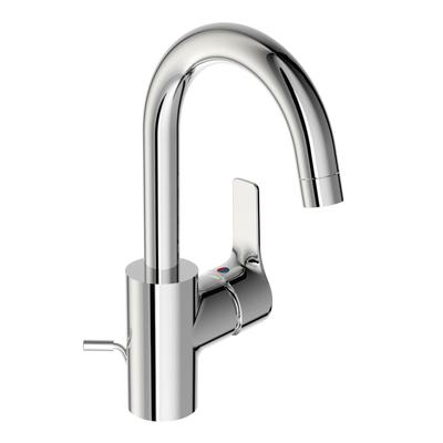 One-hole High Spout basin mixer Chrome