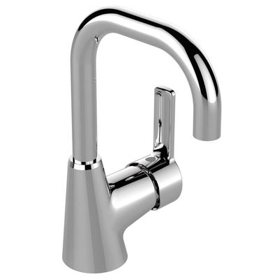 One-hole basin mixer Chrome