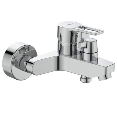 Еxposed Bath&Shower mixer Chrome