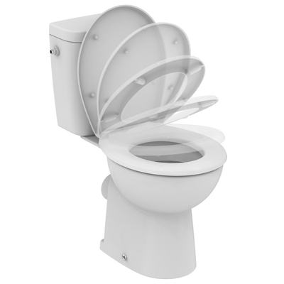SevaFresh+ Floor standing close coupled WC combination Euro White