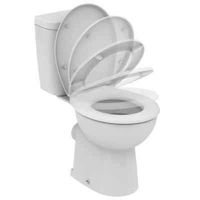 WC Combination SevaFresh +, soft-close seat Euro White