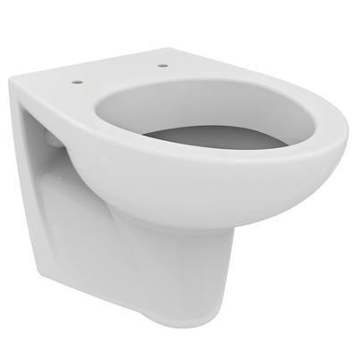 Конзолна тоалетна чиния Бял