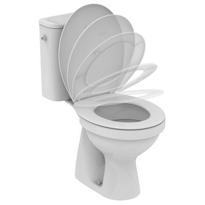Ulysse S WC комплект, седалка с плавно затваряне Бял