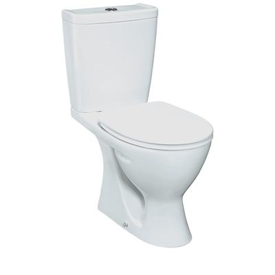 Plus WC Combination, vertical outlet Euro White