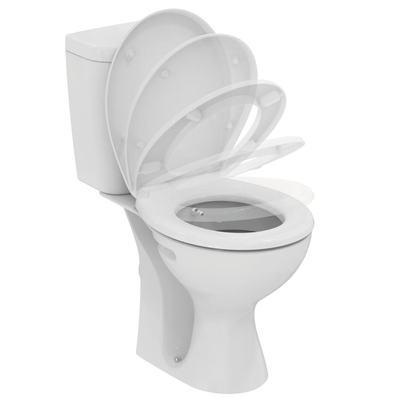 WC + биде, комплект Бял