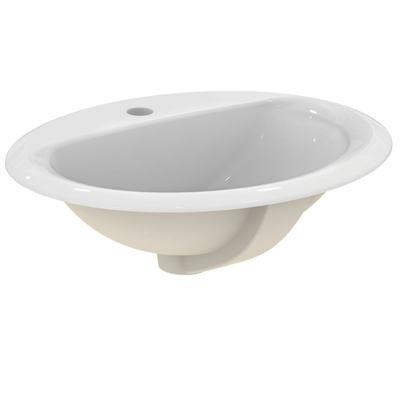 Мивка за вграждане 52 см Бял