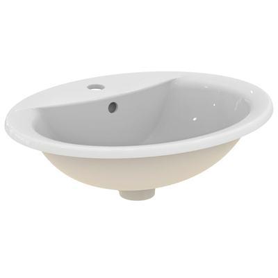 Мивка за вграждане 55 cm Бял